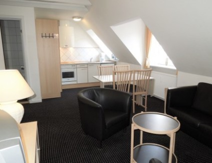 1 bedroom hotel apartment in Aarhus center