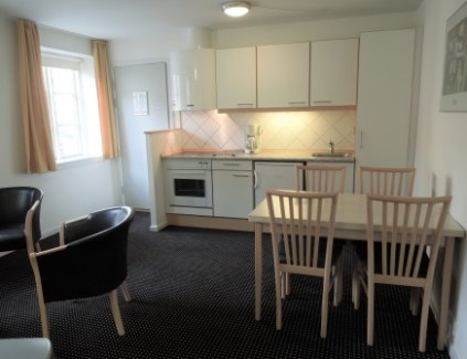 Hotel apartment with two bedrooms in aarhus